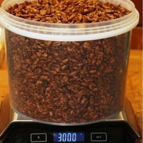 Fresh Dried Silkworm Cocoons 10L (+/- 3.0 kg)