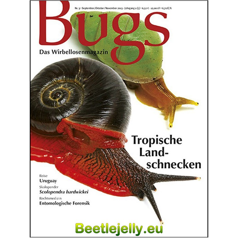 Bugs Magazine nr.3 - Tropische Landschnecken