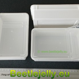 Braplast 800ml white mini box