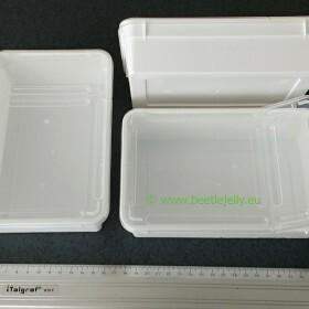 Braplast 800ml white mini box